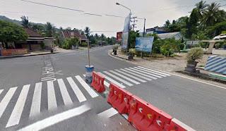 Pertigaan JLS Pucung kulon Hadiwarno Ngadirojo Pacitan