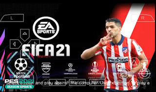 Download FIFA 21 PPSSPP Chelito V8 Android New Menu Faces Kits 2021 & Latest Transfers Update