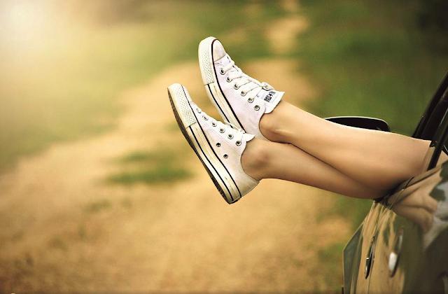 Piękne stopy latem?