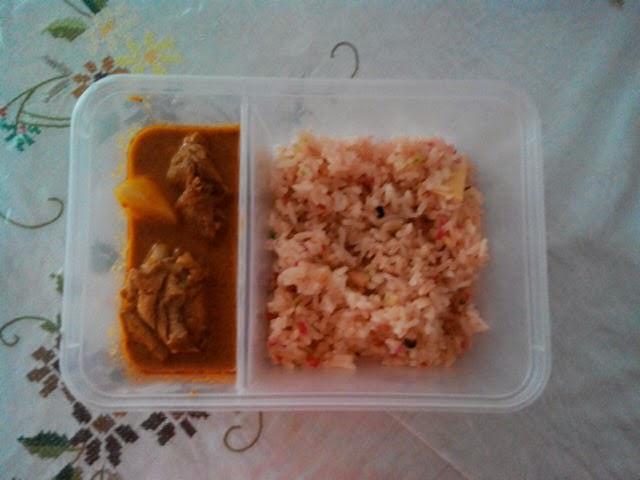 resepi gulai ayam nasi hujan panas pewarna Resepi Nasi Kandar Kuning Enak dan Mudah