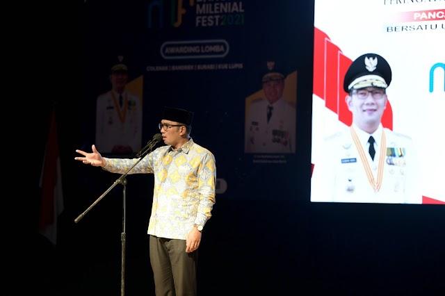 Ridwan Kamil Minta Pemuda Menjaga Kondusivitas Berlandaskan Pancasila