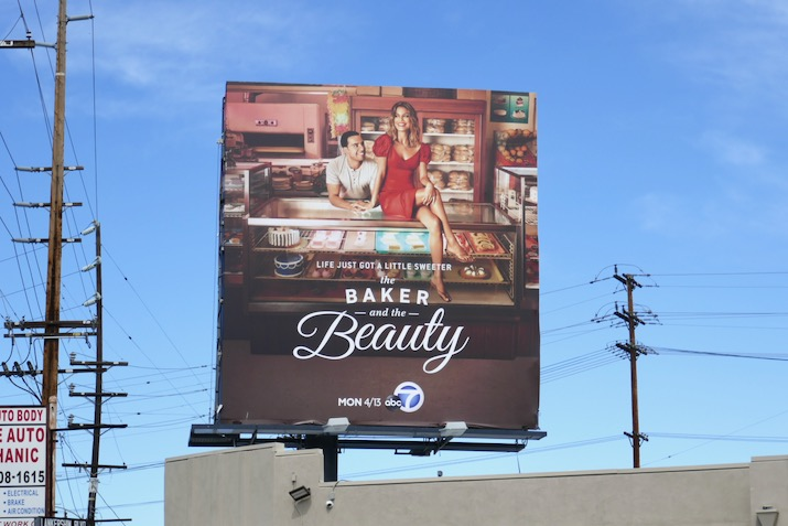 Baker and Beauty season 1 billboard