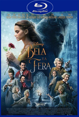 A Bela e a Fera (2017) Bluray Rip 720p / 1080p Torrent Dublado / Dual Áudio