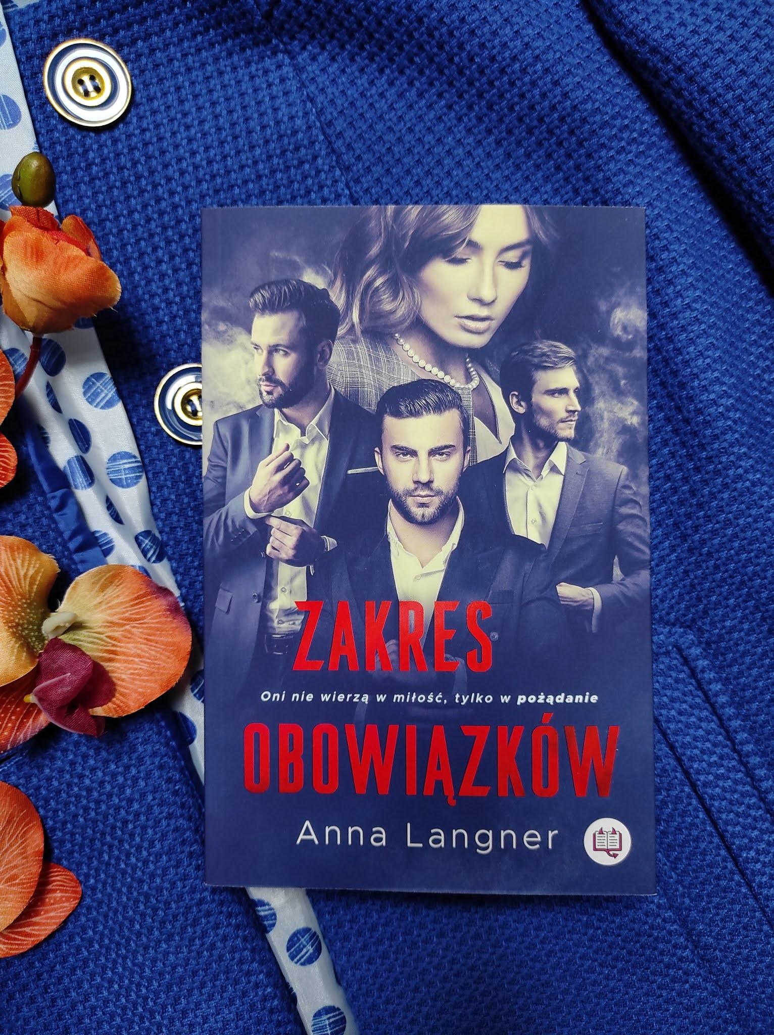 """Zakres obowiązków"" Anna Langner"