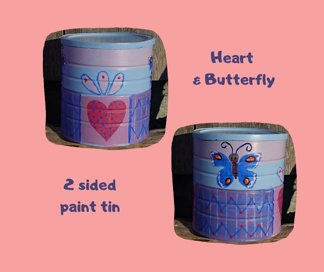 Heart & Butterfly Pot by Minaz Jantz