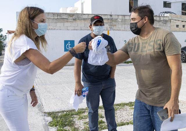 En Los Héroes pactan su voto para Cecilia Patrón