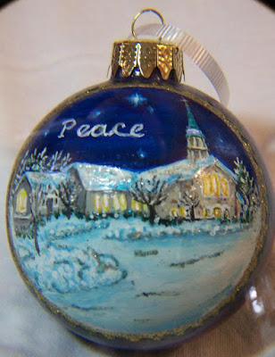 St. Kathryn Church, Peace Ornament