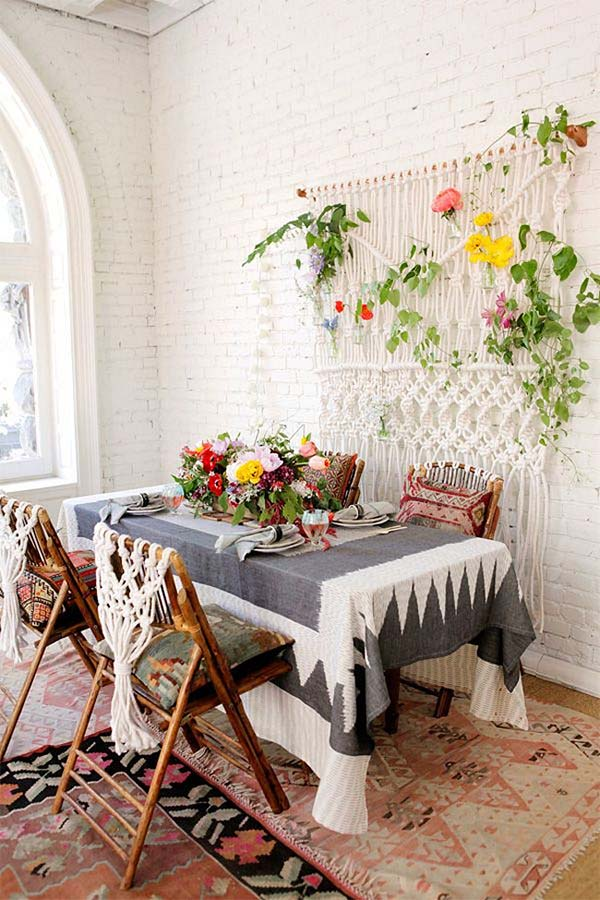 Boho Library Wall Living Room: 5 Great Resources For Boho-Chic Decorating (that You Haven