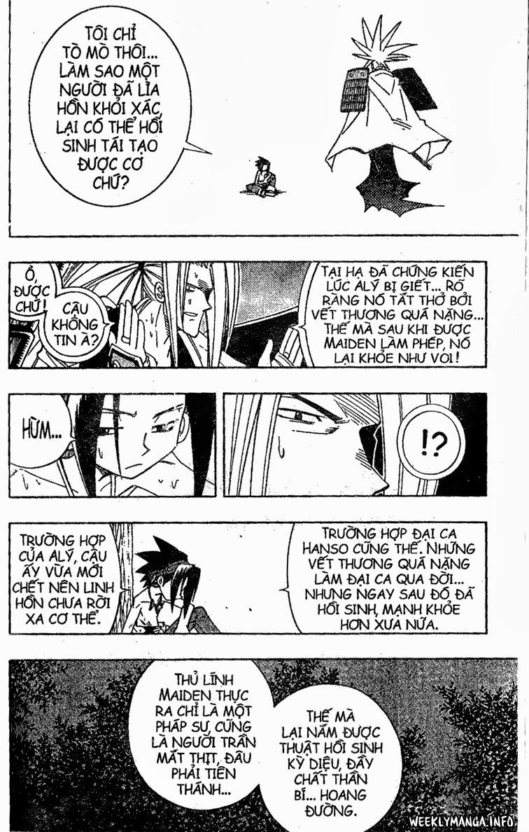 Shaman King [Vua pháp thuật] chap 195 trang 14