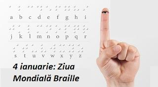 4 ianuarie: Ziua Mondială Braille