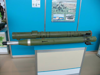 Rudal Anti-Tank 9A1472 Vikhr-1 (AT-16 Scallion)