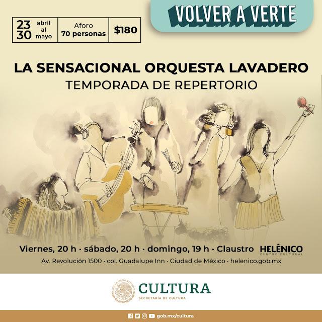 Temporada 2021 de La Orquesta Lavadero en el Claustro del Helénico