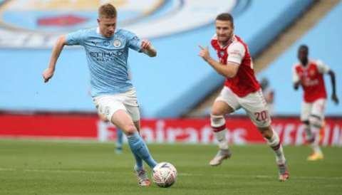 Arsenal vs Man City Highlights 18 July 2020 (FA Cup)