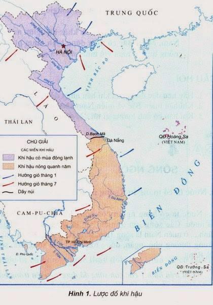 Đặc điểm khí hậu Việt Nam đối với Hoa Lan