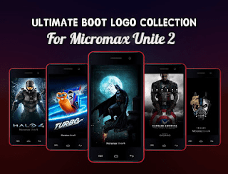 BOOT LOGO COLLECTION - MICROMAX UNITE 2 (MT6582)