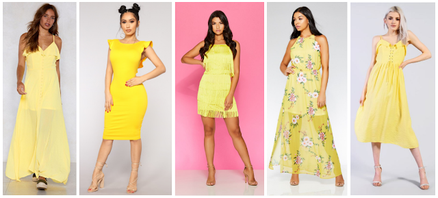 Top 5 Dress Trends Summer 2018 - Yellow Dresses