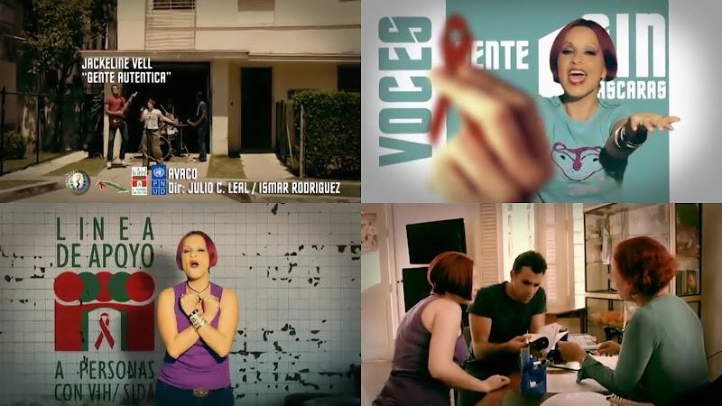 Jackeline Vell - ¨Gente auténtica¨ - Videoclip - Dirección: Julio César Leal - Ismar Rodríguez. Portal Del Vídeo Clip Cubano
