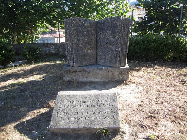 Monumento al Fuero de Ayala en Respaldiza, Aiala (Álava)