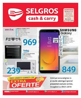 CATALOG promotii SELGROS 2 - 17 ianuarie 2019.