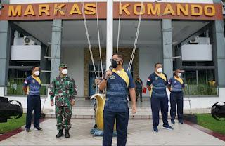 Danlantamal VIII Berikan Pengarahan Kepada Caba PK Pria Dan Wanita TNI AL