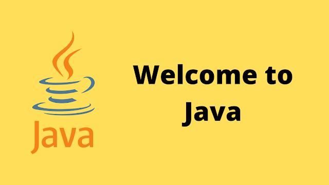 HackerRank Welcome to Java! solution