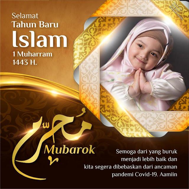 14+ Link Twibbon 1 Muharram 1443 H, Ucapan Tahun Baru Islam 2021