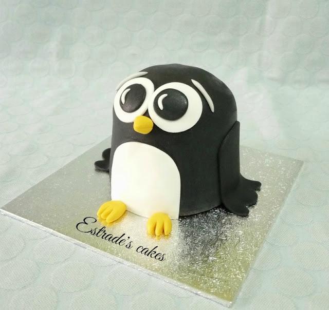 tarta de pingüino 2