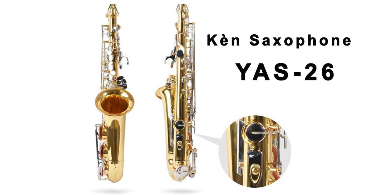 Kèn Saxophone Alto Yamaha YAS26 Chính Hãng, Mới Nguyên Hộp