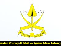Jawatan Kosong di Jabatan Agama Islam Pahang JAIP