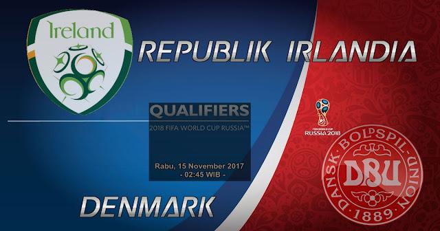 Agen Bola Terpercaya - Prediksi Pertandingan Republik Irlandia vs Denmark 15 November 2017