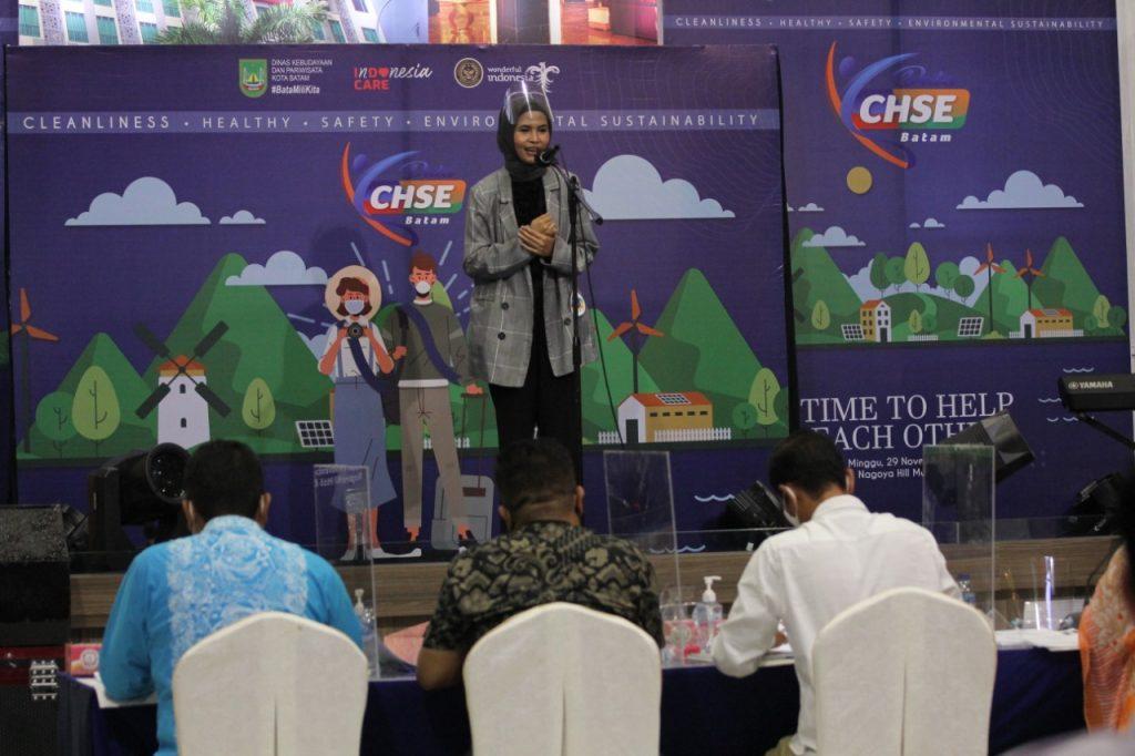 Disbudpar Batam Gelar Audisi Mencari  Duta CHSE Untuk Kampanyekan Protokol CHSE