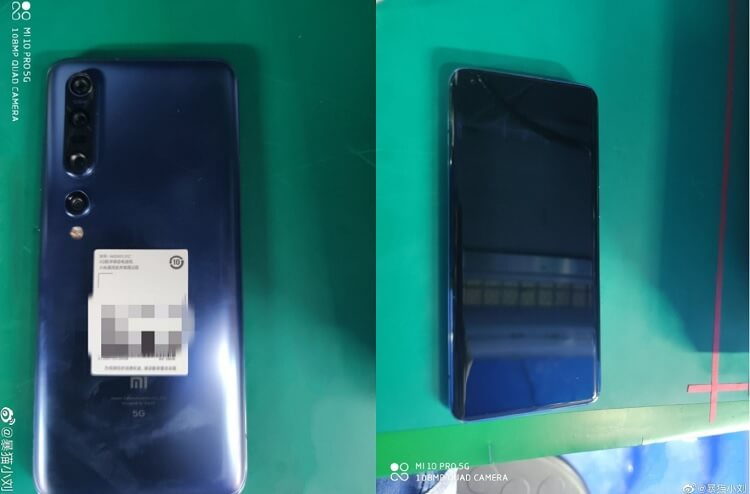 Alleged Xiaomi Mi 10 Pro Live Images Leaked