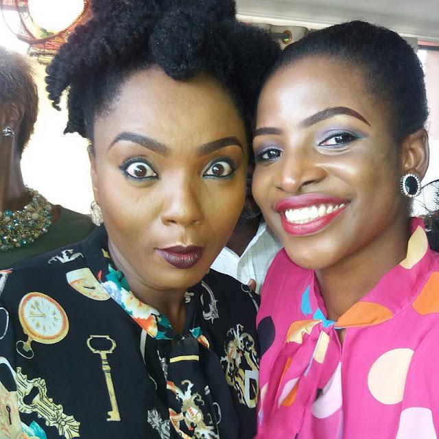 chioma chukwuka akpotha dinner with fans