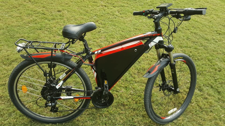 Student From Pakistan Develops Electric Bike