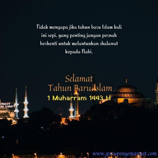 Kartu Ucapan Selamat Tahun Baru Islam 1443 H 14