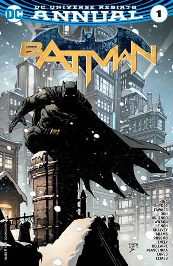 Portada de BAtman Annual 1 David Finch