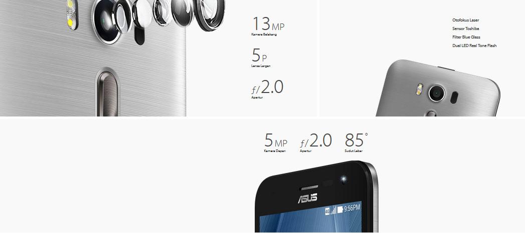 Kamera Zenfone 2 Laser 5.0 ZE500KL
