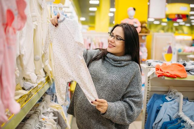 zakupy ubranek dla noworodka