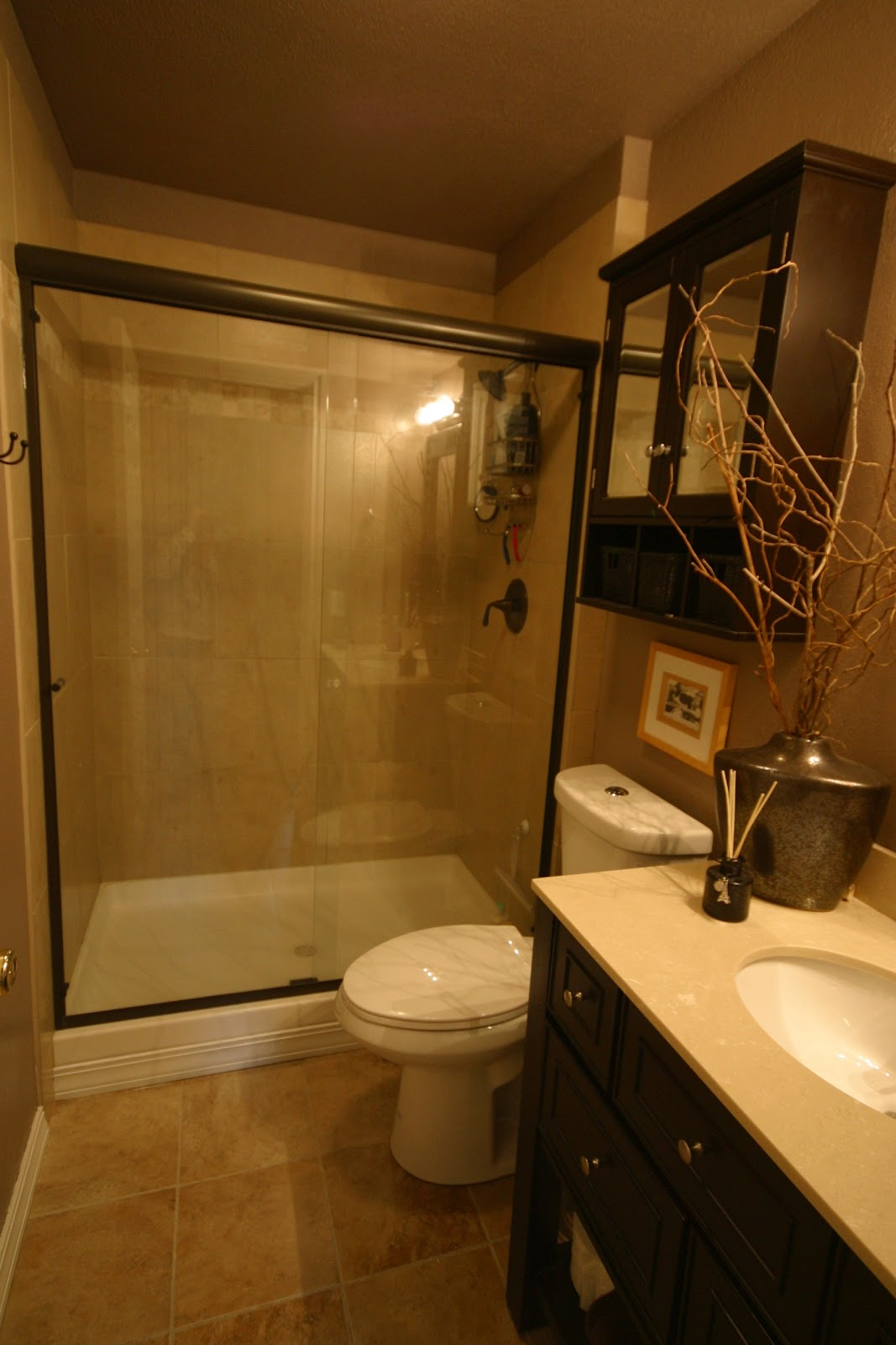 Nice Girls Rule: Nice Girl + Small Budget = Bathroom ... on Small Bathroom Renovation Ideas  id=88059