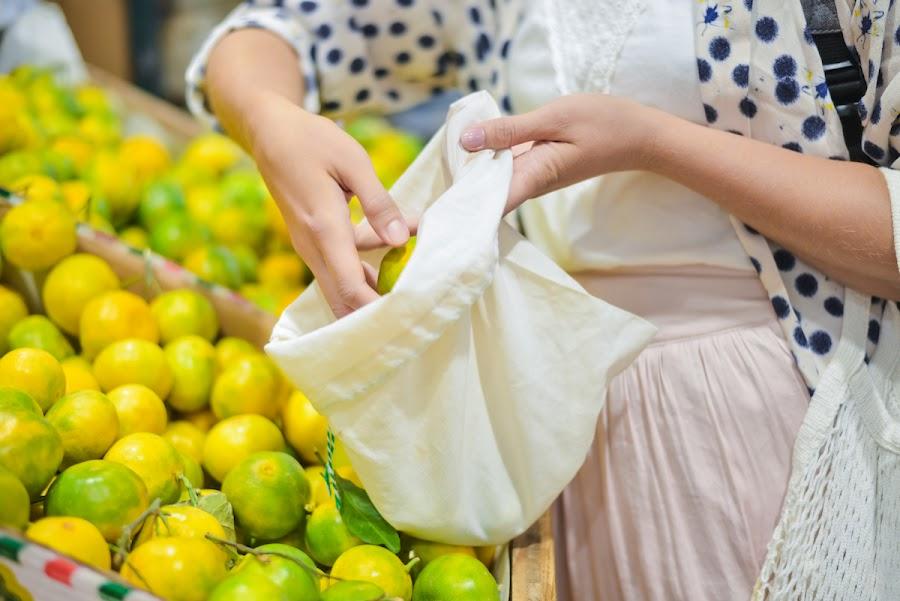 Bolsas de tela para ir a la compra