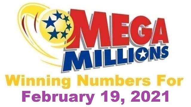 Mega Millions Winning Numbers for Friday, February 19, 2021