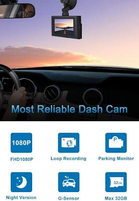 CHORTAU B-T20 Cars FHD Dash Cam