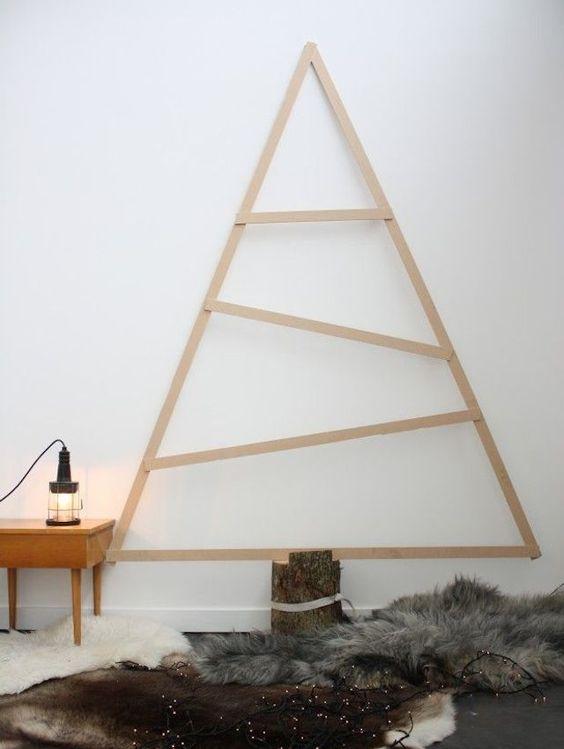 Árboles de Navidad sencillos y modernos
