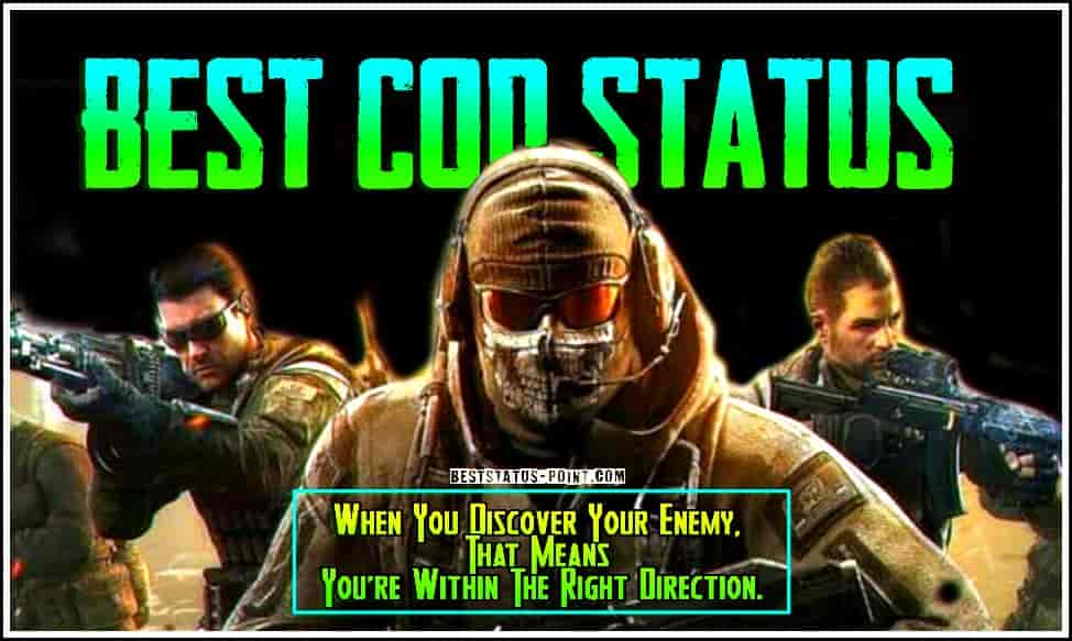 Call of Duty Status and Images