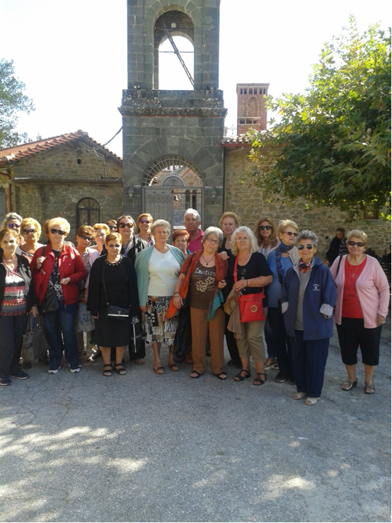 Εκδρομή για μέλη των ΚΑΠΗ του Δήμου Λαρισαίων στην Ιερά Μονή Κορώνης