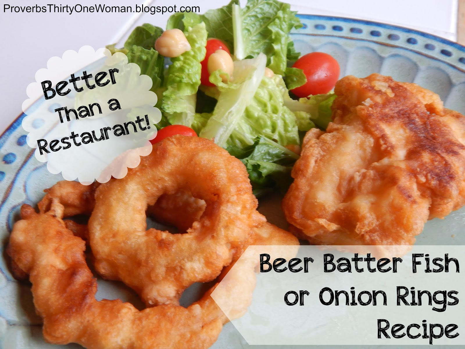Better Than A Restaurant Beer Batter Fish Or Onion Rings