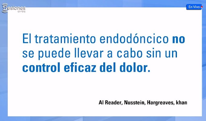 WEBINAR: Anestesia Local en Endodoncia - C.D. César Ramos
