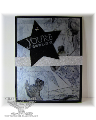 CraftyColonel Donna Nuce for Cards in Envy Challenge, Club Scrap Constellation kit