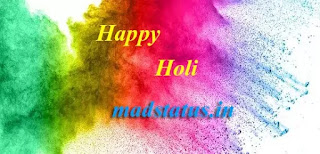 Happy holi status wishes sms messages 2020
