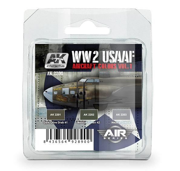 AK INTERACTIVE AK2210 WW2 USAAF AIRCRAFT COLORS VOL.2